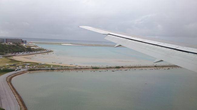 2020年3月2日、羽田から那覇までのフライトの記録です。羽田12:45発、那覇15:35着です。この路線に乗るのはJALとANAのジャンボがあったとき以来なので久しぶりです。今回は2泊の沖縄旅行です。<br />やはり新型コロナウイルスの影響で空いていました。早く影響がなくなるといいですね。ちなみに旅行のために14日前から手洗いうがいなどの基本的な対策に加え、繁華街など人通りの多いところを避けたり空いている時間に電車に乗るなど心掛けていました。旅行を台無しにしたくないのでできることはすべてやってきましたし、今後もそうしていきたいと思います。