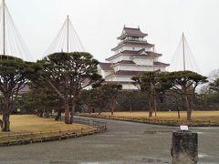 会津・鶴ヶ城と麟閣(茶室)