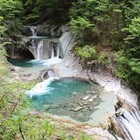山梨_Yamanashi 渓流絶景『西沢渓谷』!県名と同じ名前なのに県庁が無く、面積の8割が森林の市