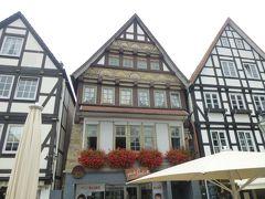 2019年ドイツのメルヘン街道と木組み建築街道の旅:⑪美しい木組みの家並みが見られるミンデンとリンテルン旧市街