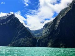 ニュージーランド 南島 ルピナス街道 ④ (快晴に恵まれたミルフォードサウンドクルーズ!)