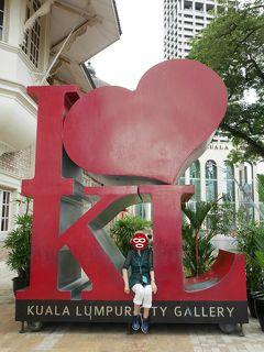 コロナウイルス警戒中、真冬の日本から真夏のマレーシア旅行でリラックス� 市内観光