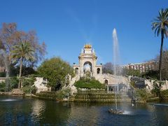 2019-2020年末年始バルセロナ&マヨルカ島 その6 シウタデリャ公園とモンジュイックの丘の散策