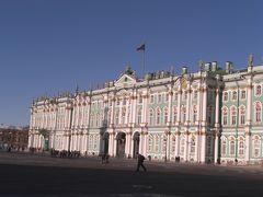ズドラーストヴィチェ、ロシア 1、2日目 念願のエルミタージュ美術館へ