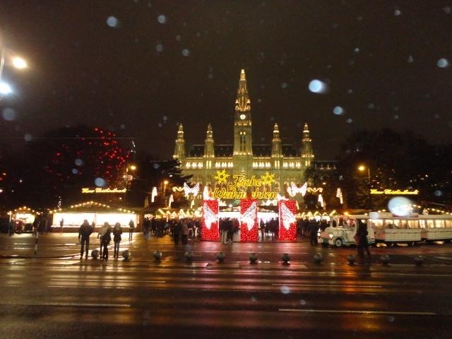 まだ旅行記にしていなかった旅を、整理もかねて順次アップしていこうと思っています。この旅は2014年の12月、クリスマス期のウィーンに1週間滞在した時のものです。アパートに滞在して自炊しながら、クリスマスを控えて独特の雰囲気溢れるウィーンを、あちこち観光してまわりました。ホフブルク宮殿、美術史美術館、シェーンブルン宮殿、ベルヴェデーレ上下宮など主要な見どころを抑え、カフェでケーキを楽しみ、オペラも見てきました。ナッシュマルクトの市にも行ってみました。冬のウィーンが大好きで何度か訪れていますが、何度来ても飽きることがありません。今回ウィーンが初めての相方と一緒に、寒い中存分楽しんだ1週間の記録です。<br /><br />12月1日(月)正午日本発、午後3時ウィーン着<br />12月2日(火)終日市内観光<br />12月3日(水)王宮など見学<br />12月4日(木)ベルヴェデーレ宮殿、ナッシュマルクト、グリンツィング<br />12月5日(金)シェーンブルン宮殿、オペラ鑑賞<br />12月6日(土)蚤の市、美術史美術館<br />12月7日(日)ウィーン少年合唱団、王宮宝物館、<br />        シュテファン大聖堂アドヴエントコンサート<br />12月8日(月)市民公園、午後ウィーン発<br />12月9日(火)朝日本着
