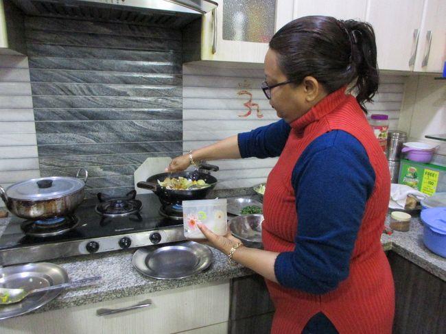 タージマハルへ行く旅 vol.6  一般家庭を訪問したアグラの夜 ~ インド ~