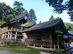 松江・出雲の旅2泊3日 (3日目)神魂神社
