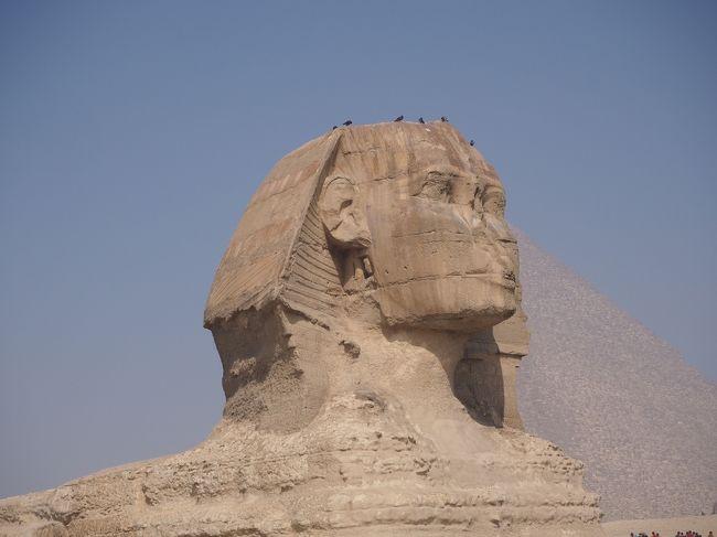 久しぶりのツアー旅行 <br />どんな人達とご一緒するのか、、、今回は20名プラス女性の添乗員さん<br />エジプトでの2日間の旅行記です。<br /><br /><br />2/26 新千歳⇒成田⇒イスタンブール<br />2/27 イスタンブール⇒カイロ ギザ泊<br />2/28 ピラミッド観光     ギザ泊<br />2/29 カイロ⇒イスタンブール<br />          ⇒カイセリ空港 カッパドキア泊 <br />3/ 1   カッパドキア観光 コンヤ泊<br />3/ 2   パムッカレ観光  パムッカレ泊 <br />3/ 3  エフェス観光   アイワルク泊<br />3/ 4   トロイ観光    イスタンブール泊<br />3/ 5  イスタンブール観光      <br />3/ 6   イスタンブール⇒成田国際空港<br />3/ 7  成田空港 ⇒ 新千歳空港