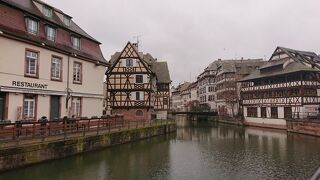 アルザス地方・ストラスブール ~ドイツの薫りが漂う切妻屋根の街 プチット・フランス~