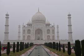 やっと来ましたタージマハル! 美しい建物! 来た甲斐がありました!