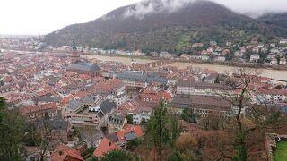 ドイツ・ハイデルベルク~古城街道とドイツ最古の大学街☆ハイデルベルク城からの眺め~