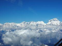 ネパール国からヒマラヤ鑑賞 ②アンナプルナ遊覧飛行と エベレスト遊覧飛行 他