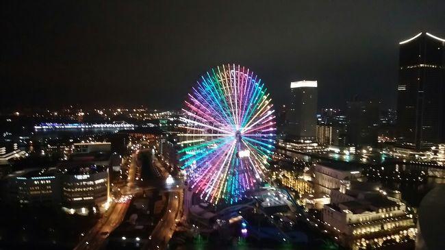 横浜ベイホテル東急にてバースデイを祝う!