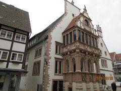 2019年ドイツのメルヘン街道と木組み建築街道の旅:⑫石造破風や木組みの家並み豊かなレムゴー、この旅初の古城ホテル ブロムベルク城に2泊。