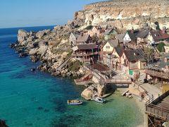 大晦日からマルタ島とキプロス島を巡るドライブ旅(猫とのふれあいも楽し♪)【3】モスタドーム→楽しいポパイ村→フェリーでゴゾ島へ
