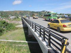 東ティモールの首都ディリ市街から国際空港への新しい橋が、日本の援助で完成しました。