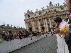 バチカン イースターの1週間 ②水曜の謁見、カタコンベ、聖木曜日、十字架の道行