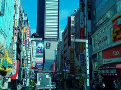 新宿散策、飲み歩き。