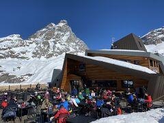 スイス ツェルマット スキー = 3. イタリア側チェルビニア・スキー編 =