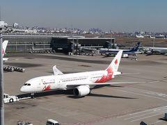 聖火特別輸送機 TOKYO 2020号@羽田空港