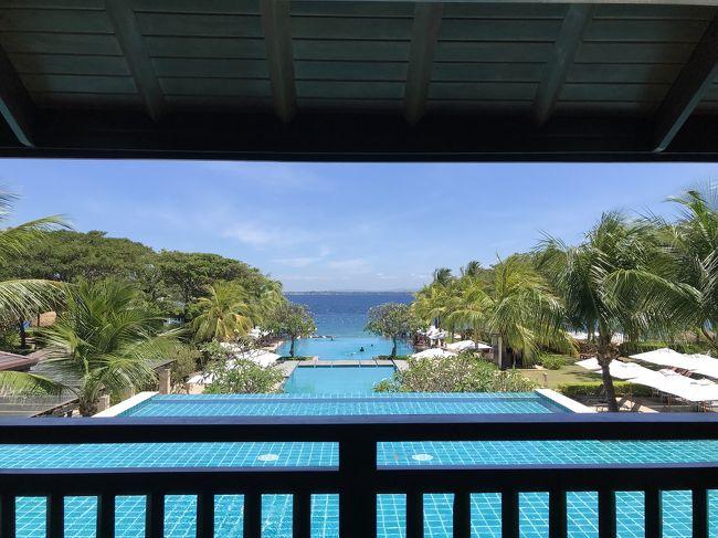 休むためだけの旅にフィリピンはセブ島へ。<br />4泊6日で行きました。5つ星のクリムゾンに3泊ステイしました。トータル12万円ほど。お金にケチらずです。今まで、細かく分けてたけど、一括にしてみました。参考になると嬉しいです。<br />クリムゾンホテル、aumspaは詳しく書けてるかな、?