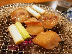 日間賀島は美味しい物がいっぱいNo.2 美しい夕焼け「いすず館」の「とらふぐスタンダードコース」でふぐ三昧 島バル daitomeでタコ串