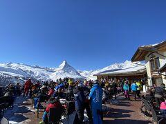 スイス ツェルマット スキー = 5.スネガ側スキー編 =