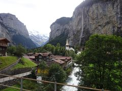シニア主婦のユーレイルパス一人旅(3)  ラウターブルンネン(トリュンメルバッハ滝)