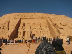 いざエジプトへ・・5日目アブ・シンベル・アスワンそして夕方便でカイロへ♪