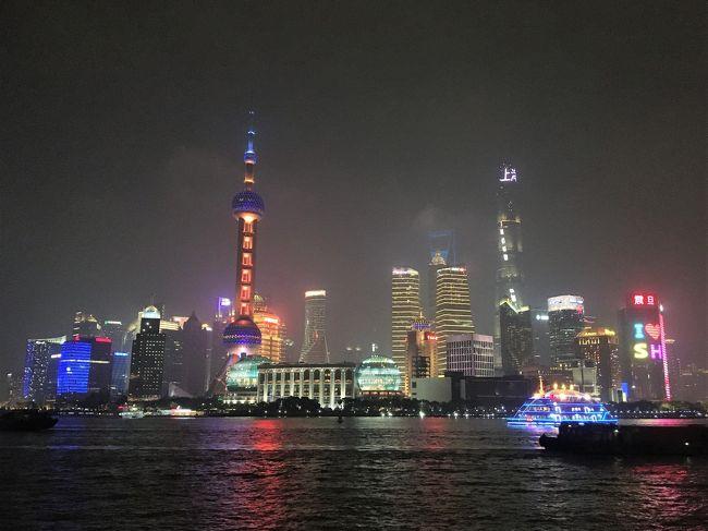2020年1月4日(土)<br /><br />この日は朝から上海市内の観光でして、東方明珠電視塔周辺、豫園商場~豫園、新天地~旧フランス租界周辺、玉佛寺、人民広場など見物・散策を楽しんでおりました。<br /><br />そして日が暮れ始める夕方になってから田子坊を訪問しました。田子坊は元々、老朽化した集合住宅が並ぶエリアだったのですが、今では地元上海人や在住外国人、外国人旅行者で賑わう人気の観光スポットになったんだそうです。その後は上海駅へ行ってみたり、一旦宿に戻って休憩したりしていました。<br /><br />そして夜はクライマックスへ・・・外灘で上海の夜景を鑑賞しました! 同じ中華圏のシンガポールや香港に負けない規模でしたね~(*^-^*)<br />とにかく朝から晩まで上海を満喫できた1日でした。