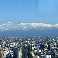 立山連峰の雪景色を富山から眺める&グルメ旅
