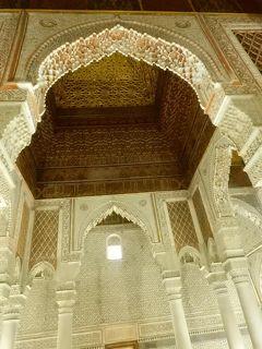 サアード朝の墳墓群 マラケシュ モロッコ ⑦