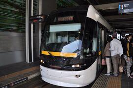 2020年3月関東プチ鉄道旅行3(地元に戻って富山地方鉄道路面電車南北接続区間に乗ります)