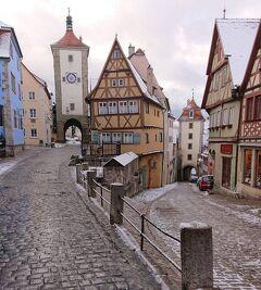 ドイツ・ローテンブルク『ロマンティック街道〜中世の街並みを残す商業の街』