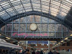 パリ北駅からプチトリップ、ロンドン!