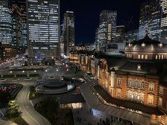 2020年1月 夜の東京駅周辺