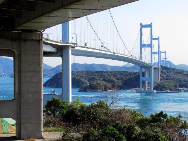 大阪からフェリー輪行し、今治から尾道までしまなみ海道70kmを走る旅。観光・休憩込みで10時間で走破しました。