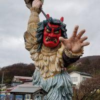 荒れた天気にドキドキ秋田