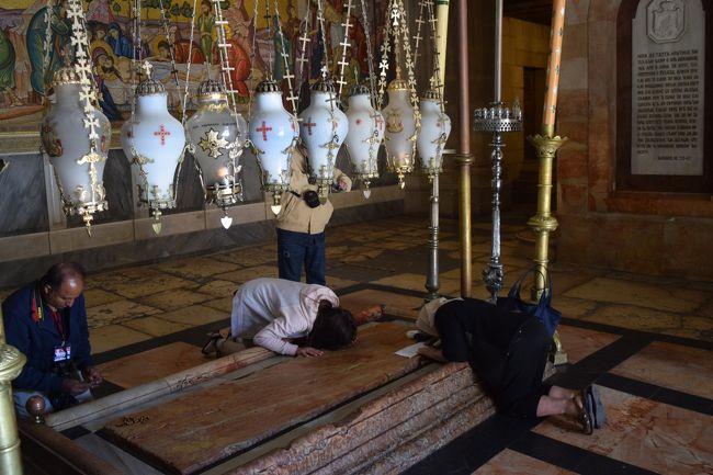 エルサレム市内ブラブラ、その2、無料ウォーキングツアー参加。