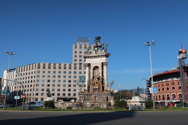 年末年始はリスボン&バルセロナへ<13>スペイン広場、カタルーニャ美術館見学!編