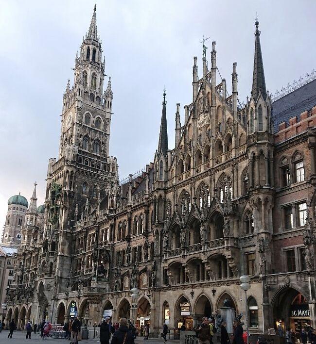 ドイツ・ミュンヘン「南ドイツの中心都市~マリエン広場 新市庁舎 フラウエン教会 カールス門」