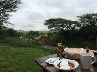 ロンドン・ナイロビ出張(その34) おまけのマサイマラ、サファリ後の朝食~ランチ!