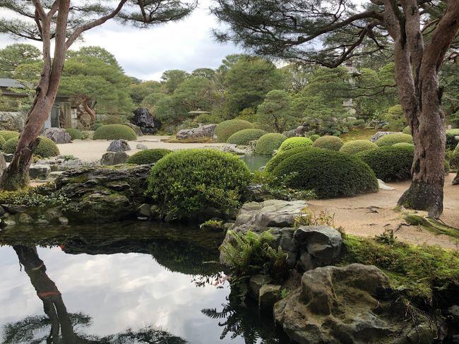出雲大社・美保神社の両参りを終え、美保関から鳥取の鬼太郎ロードを経て、世界一の庭園といわれる足立美術館と熊野大社へ。<br />最終日は玉造温泉・長生閣グランドホテルに泊まり帰途に就きます。