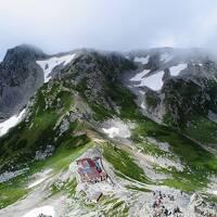 立山に登り山麓のキャンプ場に泊まる旅