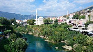 クロアチア&スロベニア ちょっとだけドイツ・オーストリアも イイトコ撮りの旅 (9) モスタルで平和を祈る