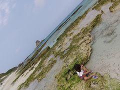 娘2歳誕生日伊平屋島家族旅行