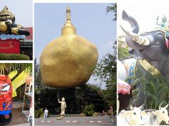 ヒンドゥー教の神様(ピンクガネーシャ)だけでなく、観音像やミャンマー聖地も見られました(別冊)