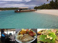 25周年記念 クック諸島 Day5-8(Bishop's Cruise6 ランチしてOne Foot Island 一周)