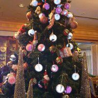 椿山荘のグルメとクリスマスツリー  おもてなしに大満足