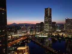 はじめての神奈川 ANAマイルで行く横浜 鎌倉 ホテルの部屋から富士山が見えた!